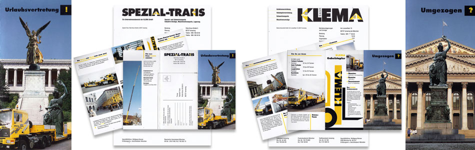 corporate design spezialtransport