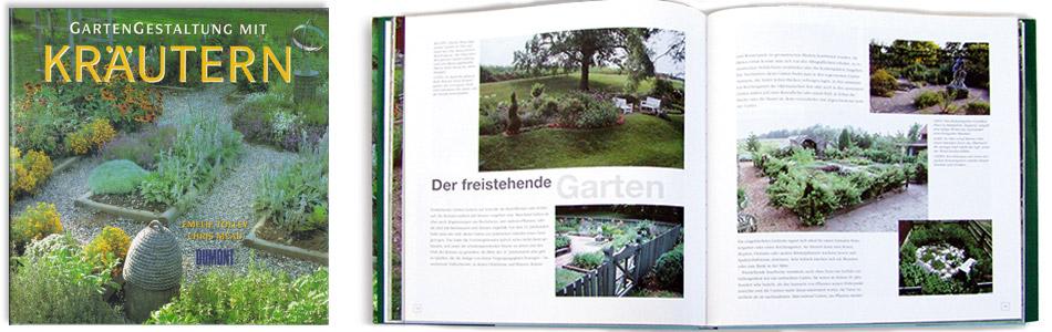 reichert design — dtp, typografie und design – buch gartengestaltung, Garten ideen